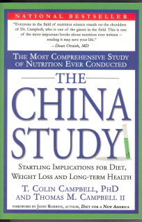 book cover china study